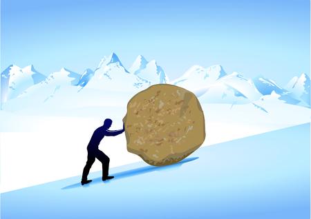 strenuous: mythology Sisyphus