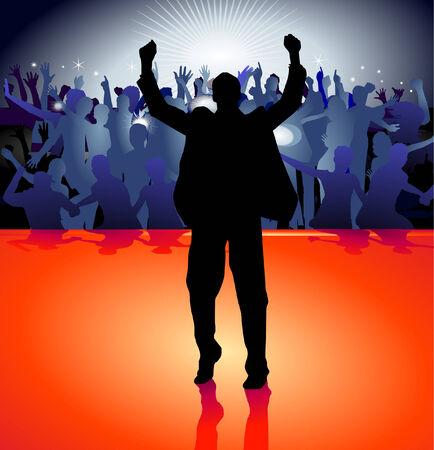 voices: en el escenario Vectores