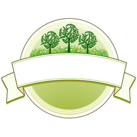 signet: sello de Market garden Vectores