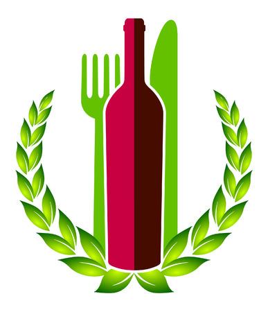 menu and wine list Stock Vector - 8676522