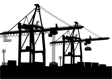 cranes: Container-Terminal