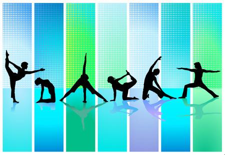 gymnastique: collection de gymnastique