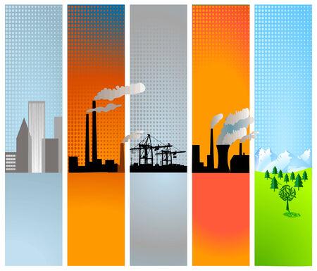 petroleum: expansi�n de la industria en la periferia Vectores