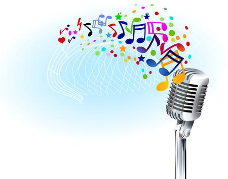 notas musicales: para reproducir desde la m�sica
