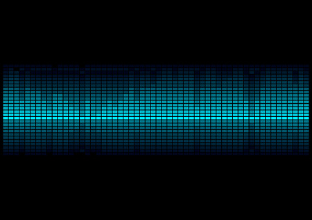 digital volume: equalizer Digital Illustration