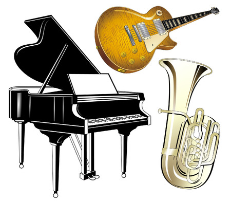 musical instruments Stock Vector - 8864466