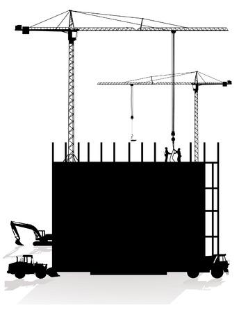 construction site Stock Vector - 8864523