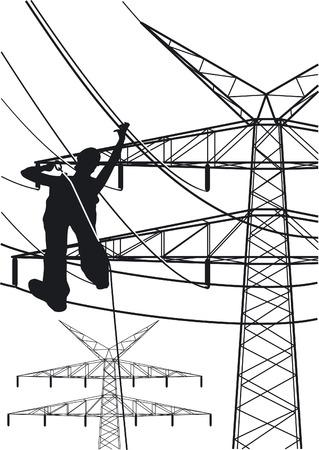 elektrische tower constructies werken