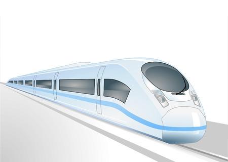 treno espresso: treno espresso Vettoriali