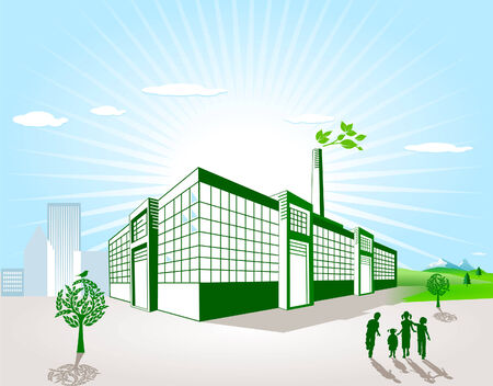 production of energy: green factory
