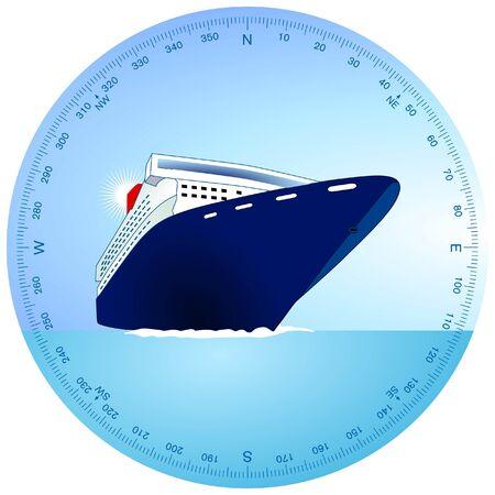 cruise ship Stock Vector - 9386334