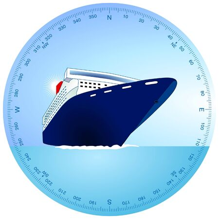 cruise ship Stock Vector - 9386334