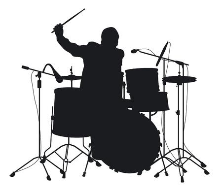 drum sticks: drummer