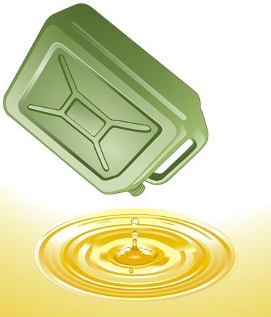 petrol can: Gasolina puede