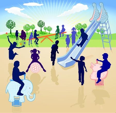 playground: Childrens playground