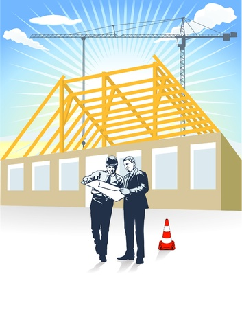construction management: Builder architect and home