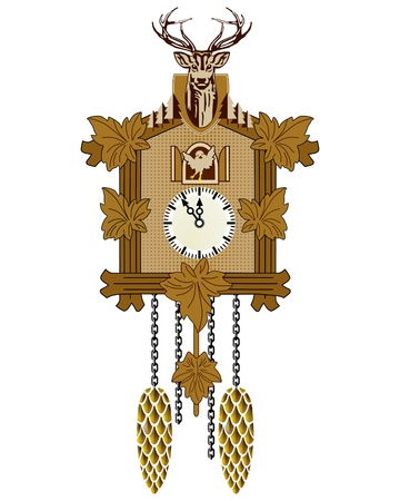 cuckoo clock: Reloj cuc�