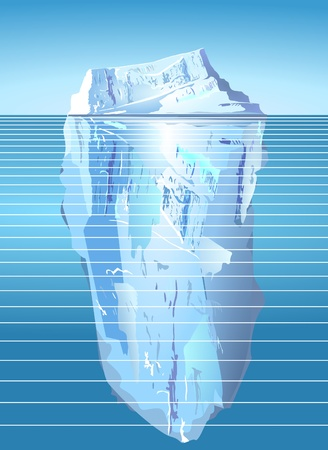 iceberg Stock Vector - 9784278