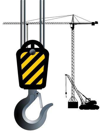 Crane Hook Stock Vector - 9785136