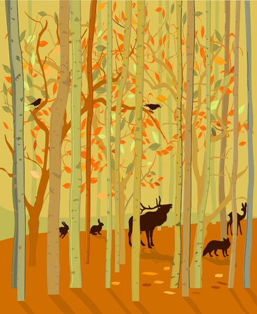 forester: Forest Animals in Autumn