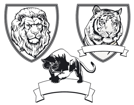 Predator emblem Vector