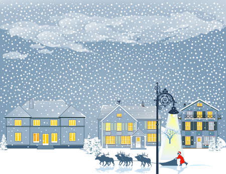 happier: Christmas Eve in the snow