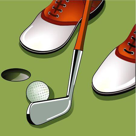 putting: Golf putting