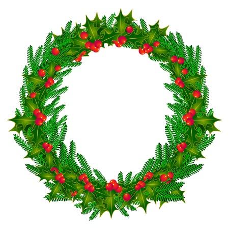 snow wreath: advent wreath