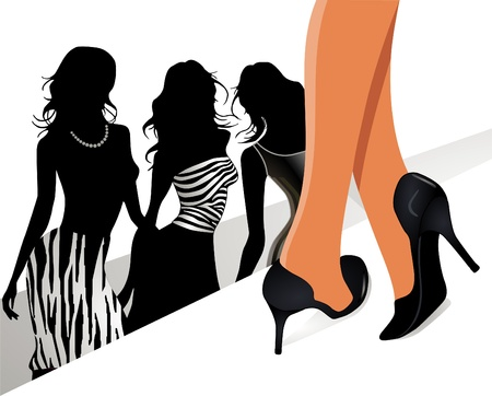 catwalk model: passerella