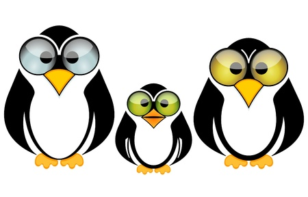 big belly: Funny Penguin