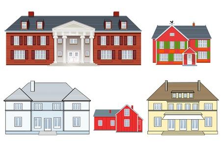 maison de maitre: maisons mis en