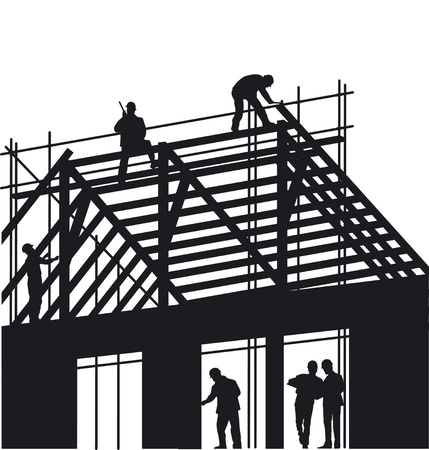roof construction: Roofers and Carpenter