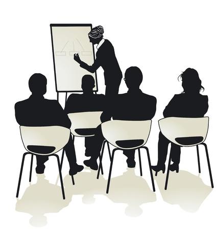 businessperson: Presentation