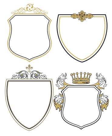 heraldic shield: princes arms