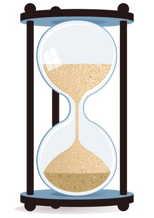 hourglass Stock Vector - 11295261
