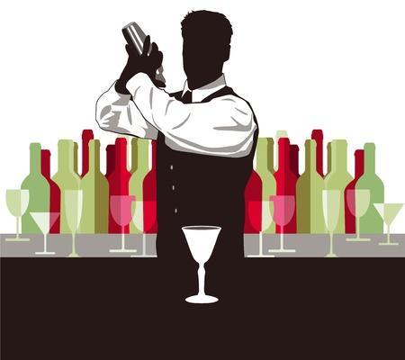 cocktail mix Vector