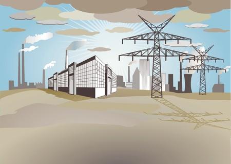 environmental pollution Stock Vector - 11485613