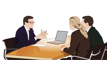Consulta y el debate