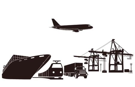 embarque: Transporte y carga