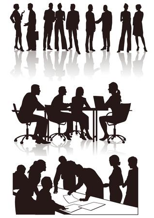 sales executive: La gente en la oficina