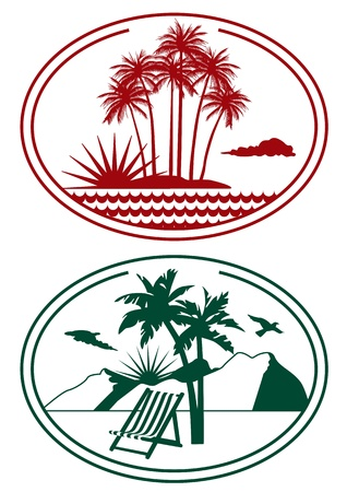 Travel Label Vector
