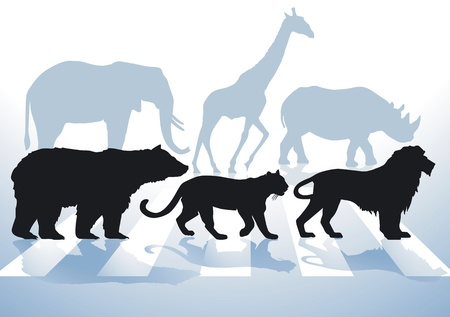 Animal Protection Stock Vector - 11943474