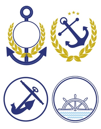 anchor characters Vector
