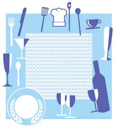 gourmet meal: Restaurant sign