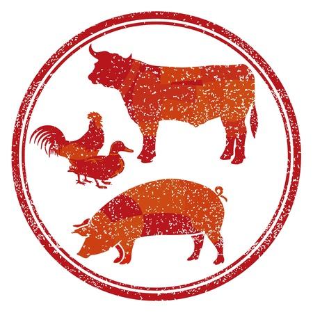 macellaio: Carne prodotto segno