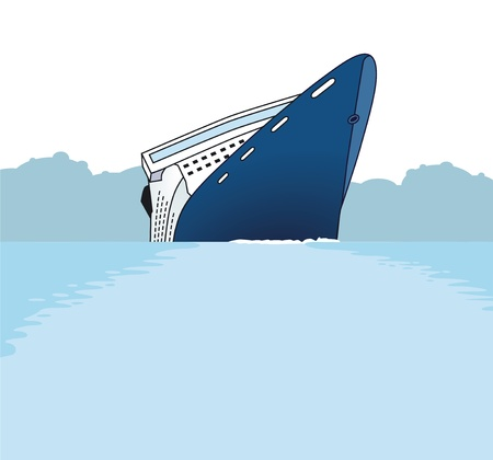 shipwreck Stock Vector - 12062388