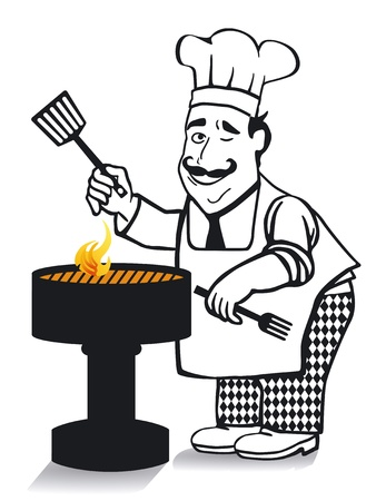 The chief cook Stock Vector - 12062410