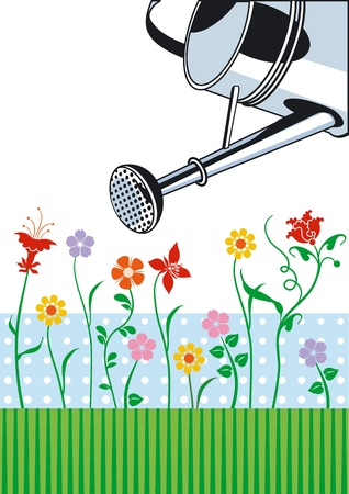 garden care Stock Vector - 12062407