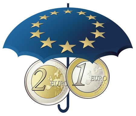 Euro rescue package Stock Vector - 12385222