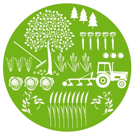 Agriculture and Natural Stock Vector - 12385282